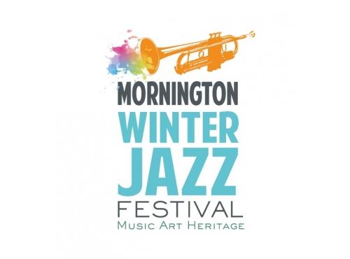 logo design created for Mornington Winter Jazz Festival