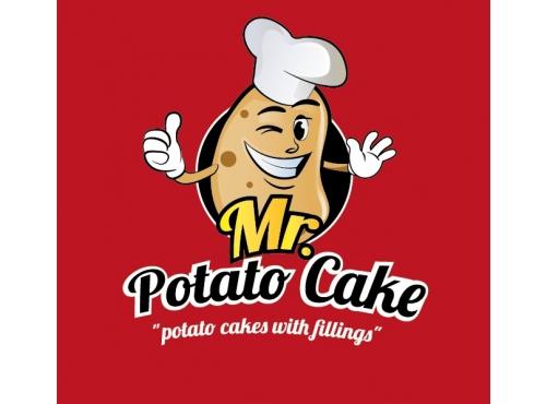 logo created for Mr. Potato cake