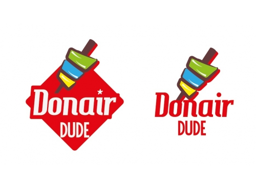logo created for Donair Dude