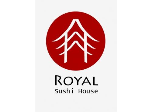 logo created for Royal sushi house